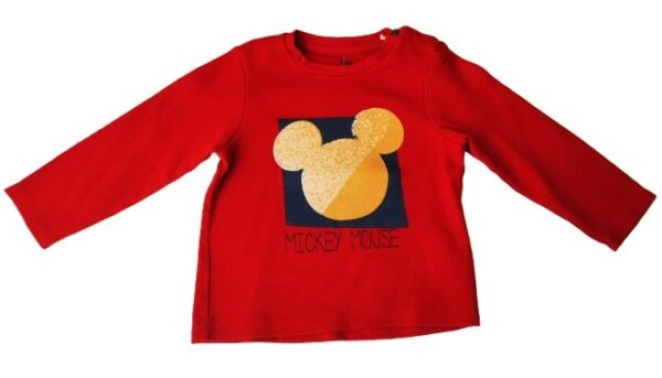 T-shirt manches longues Mickey Mickey Mouse