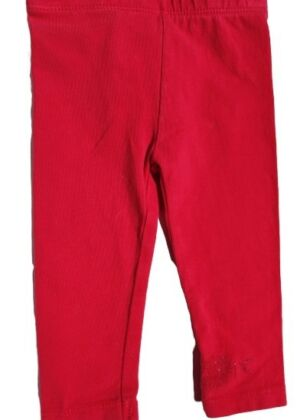 Legging rouge