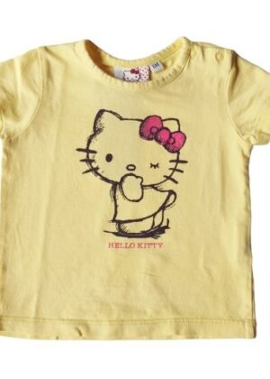 T-shirt jaune  Hello Kitty
