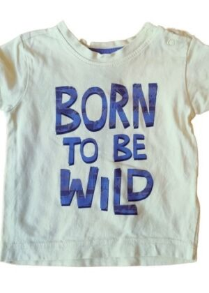 T-shirt jaune Born To Be Wild