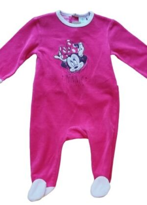 Pyjama en velours Minnie
