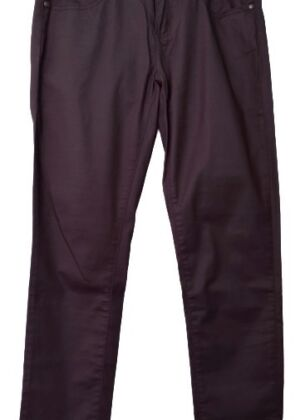 Pantalon marron huilé