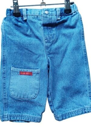 Jeans jambes larges