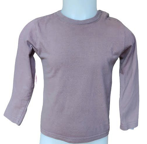 T-shirt manches longues taupe