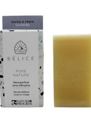 Savon Solide saponification à froid Bélice Pure Nature