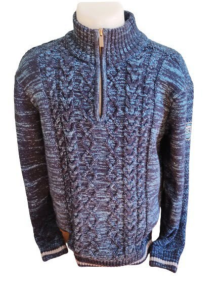 Pull bi couleur Armand Thiery