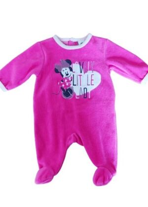 Pyjama rose Minnie en velours