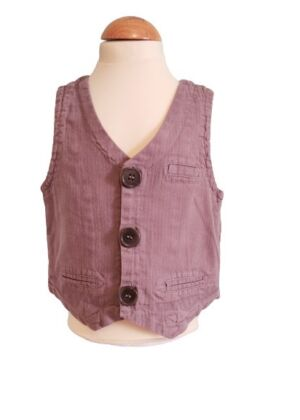 Gilet sans manches taupe