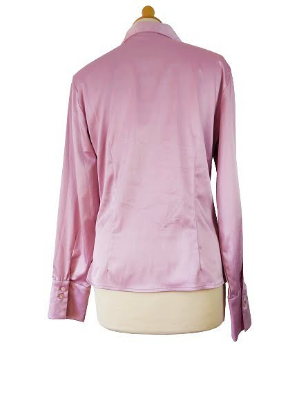 Chemisier magenta brillant collection HENNES by H&M