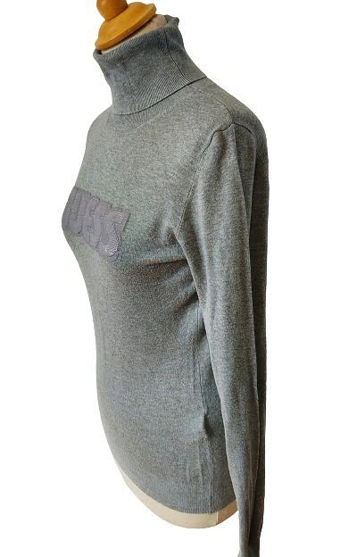 Pull avec sequins col montant GUESS