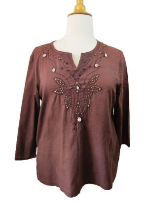 Blouse coquillage