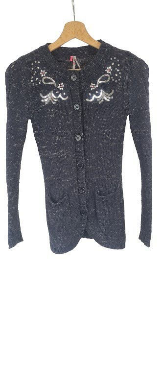 Gilet long sequins Orchestra
